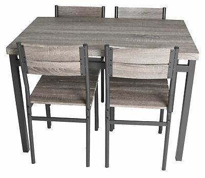 Zenvida Set / Breakfast Table and Chairs,