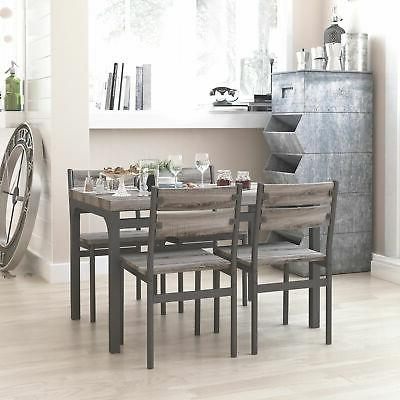 5 piece dining set breakfast nook table