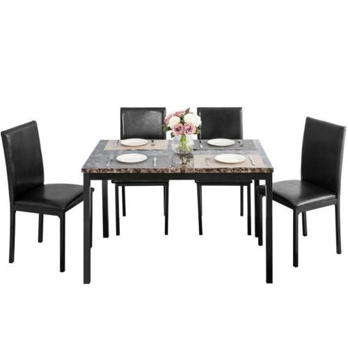 5 Piece Set Faux Metal Furniture
