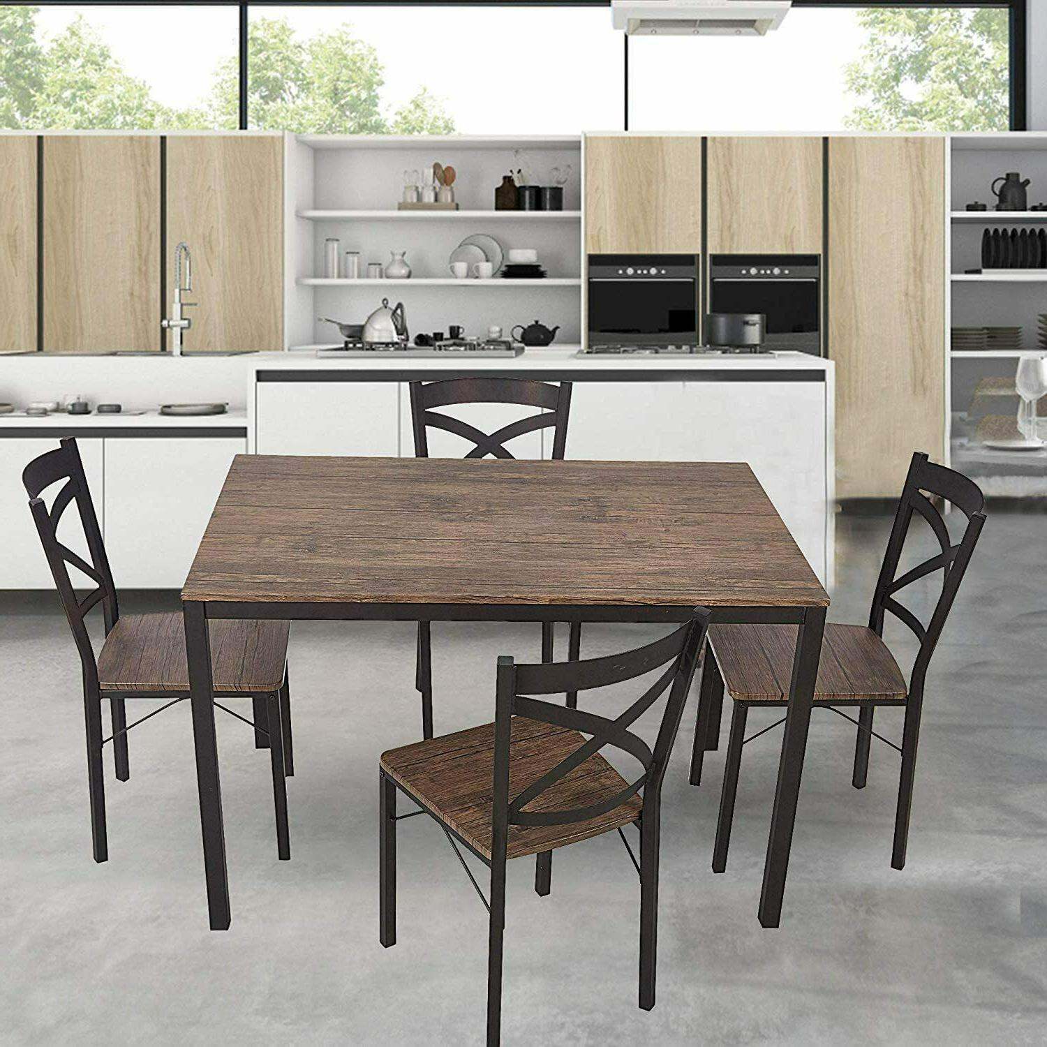 5-Piece Dining Style and Chairs,