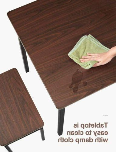 5 Piece Dining Kitchen Furniture with Wood