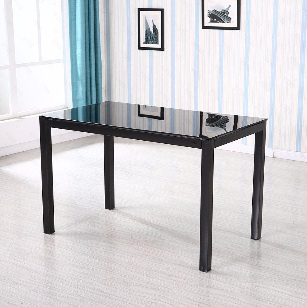 5 Piece Dining Table Metal Furniture