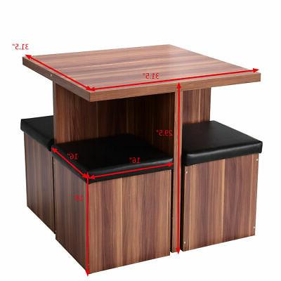 5 Table Kitchen Dinette Table Stool