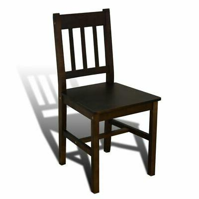 Wooden Set with Dining Brown