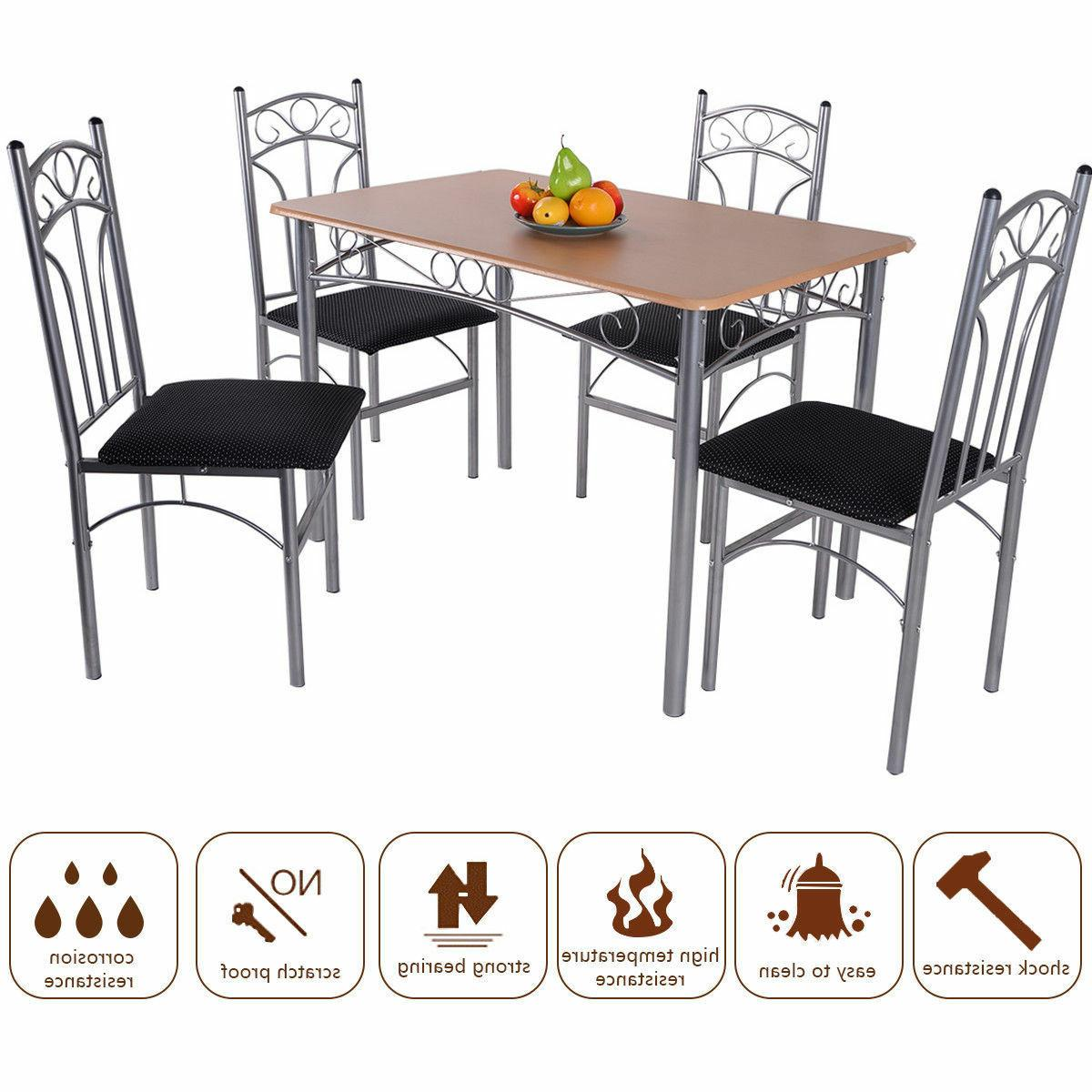 5PCS Dining and 4 Home Kitchen Furniture New