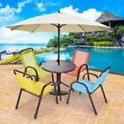 5PCS/Set Kids Patio Dining Table and Chairs Play Colorful Ou