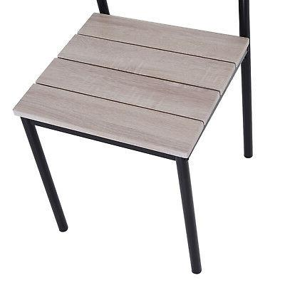 5pcs Set Counter Height Chair Home
