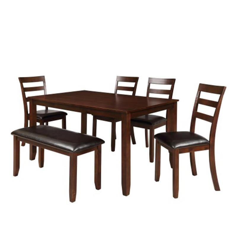 6pc <font><b>Dining</b></font> 4 Ladder <font><b>Chairs</b></font> And Bench And A Bench Simple <font><b>Sets</b></font>