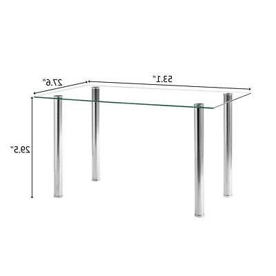 7 Glass Table Room Furniture