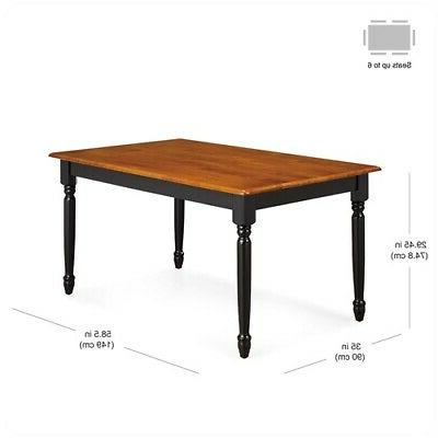 7 Table Chairs Set Furniture