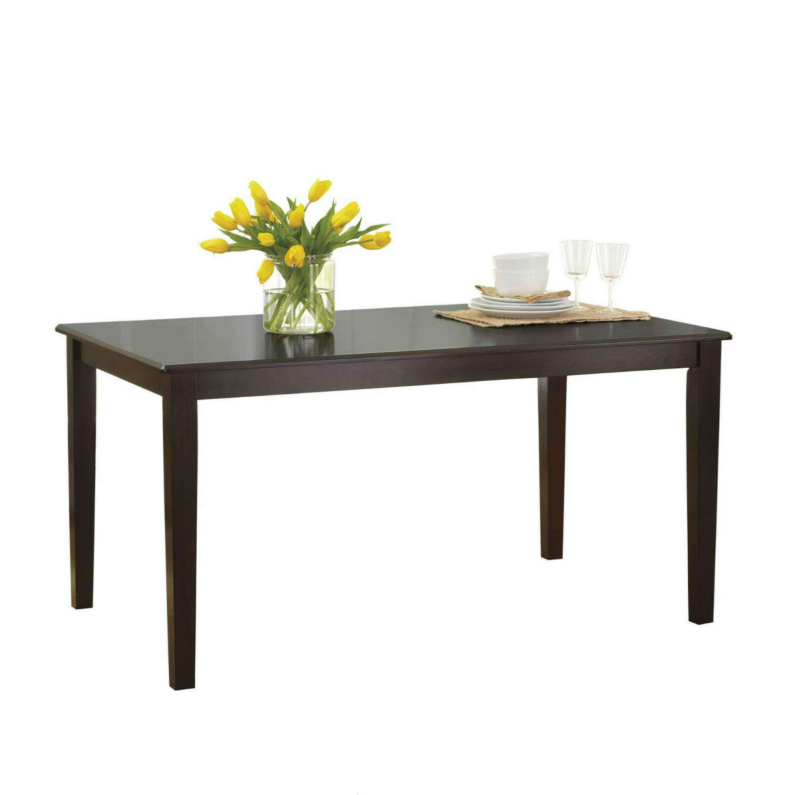 7 Piece Table Farmhouse Wooden and