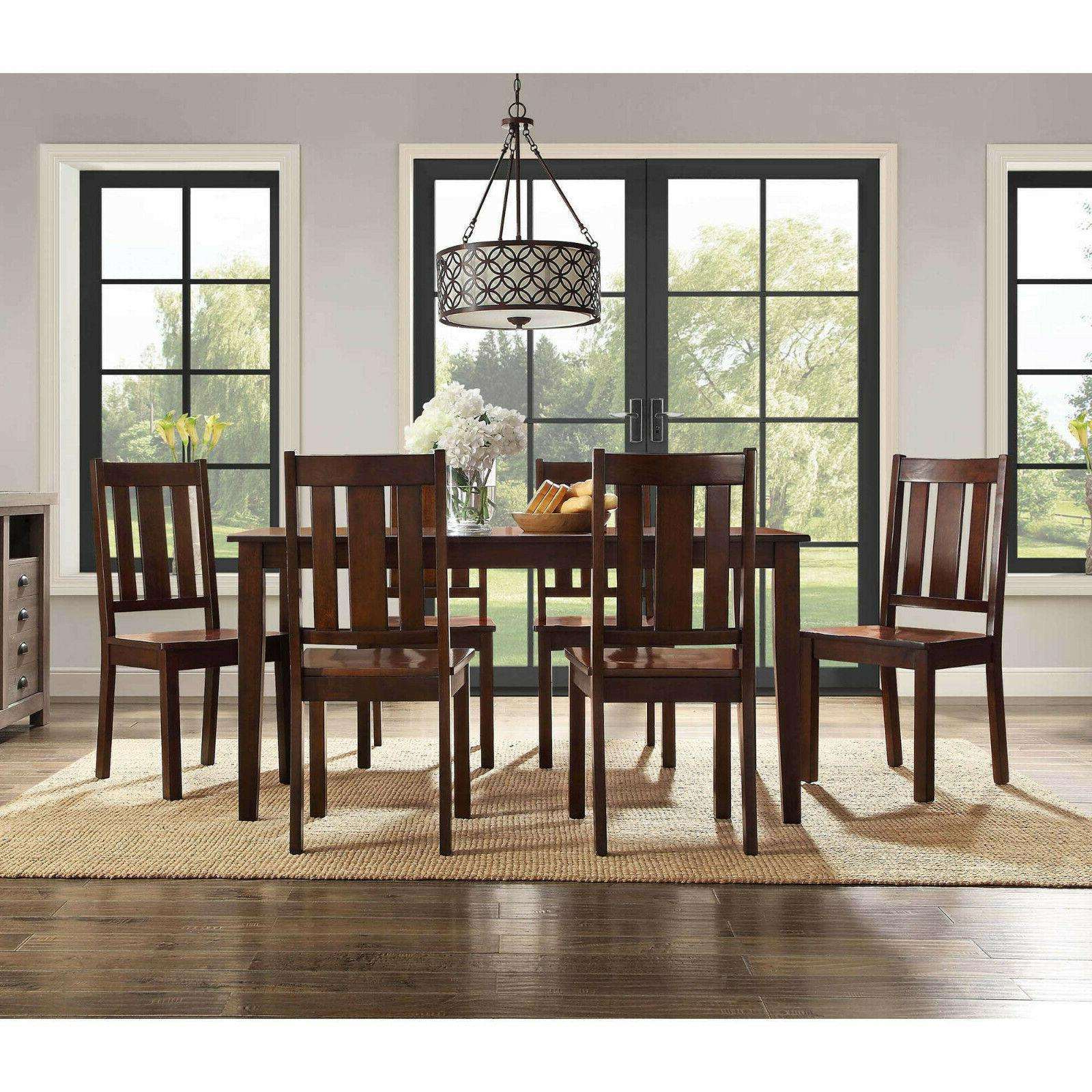 7 Table 6 Farmhouse Wooden Kitchen and