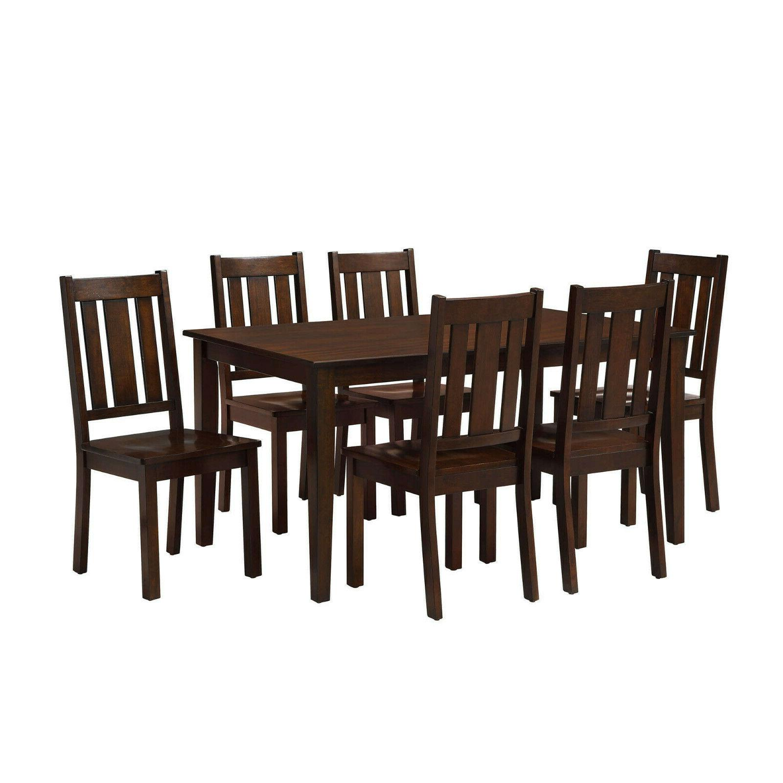 7 piece dining room table set