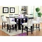 Bowery Hill 9 Piece Counter Height LED Dining Set
