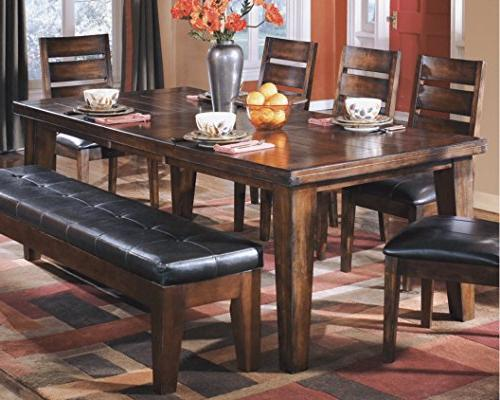 Ashley - Larchmont Dining Table Style Brown
