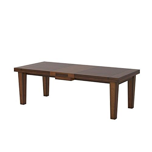 Ashley Furniture Signature - Dining Room Table Old Style Brown