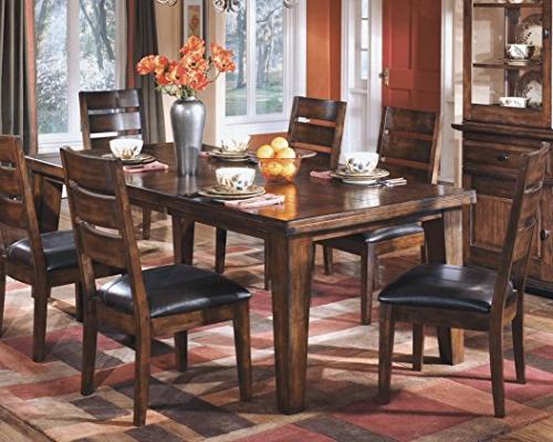 Ashley Signature Table - Style Burnished Brown
