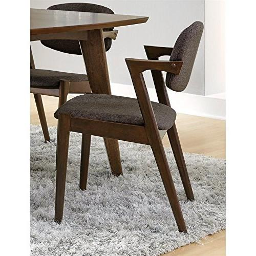 Coaster 105352 Home Furnishings Side Chair , Dark Walnut