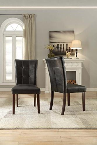 Homelegance 2456S Side Chair Upholstered,