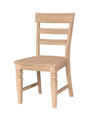 International Concepts C-19P Java Chair with Solid Wood Seat