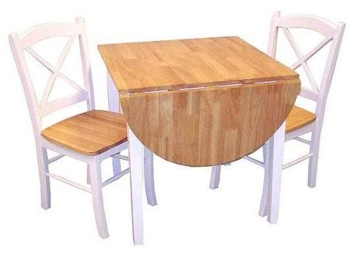 Target Marketing Piece Dining Chairs Leaf Table,