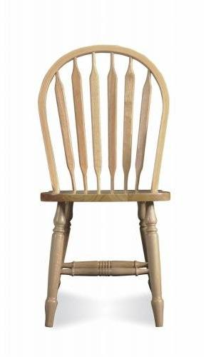 Windsor Unfinished Arrow Back Chair