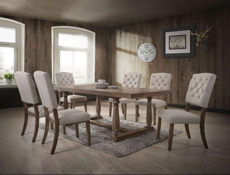 Acme Bernard 7 Piece Dining Room Set 66187