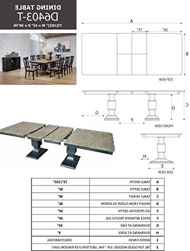 Dining Room Set, 8 Chairs Server