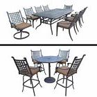 bar set and dining set with extendable