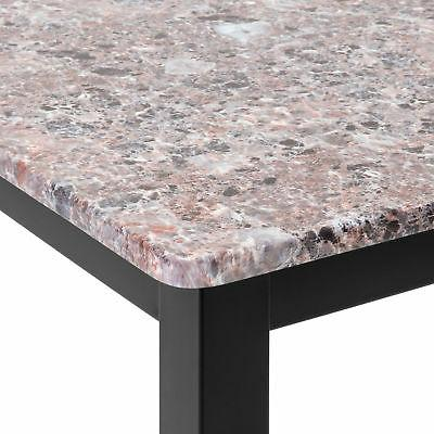 BCP Marble Table Dining Set w/ Stools