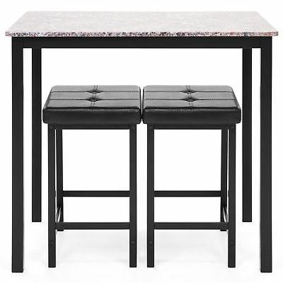 BCP Marble Table Set w/
