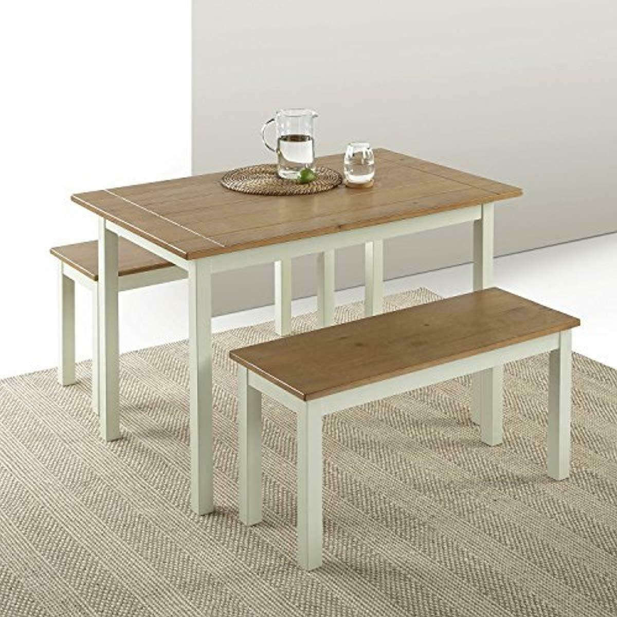 Zinus Becky Dining Table 3 Piece