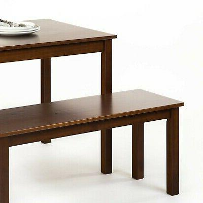 Brand New Espresso Wood Table with / 3 Set