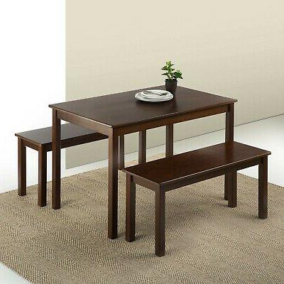 brand new juliet espresso wood dining table