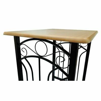 Breakfast Table Dining Table Set Kitchen Furniture 1 and 2 Tall