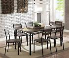 Union Rustic Brockway Wooden 7 Piece Counter Height Dining T