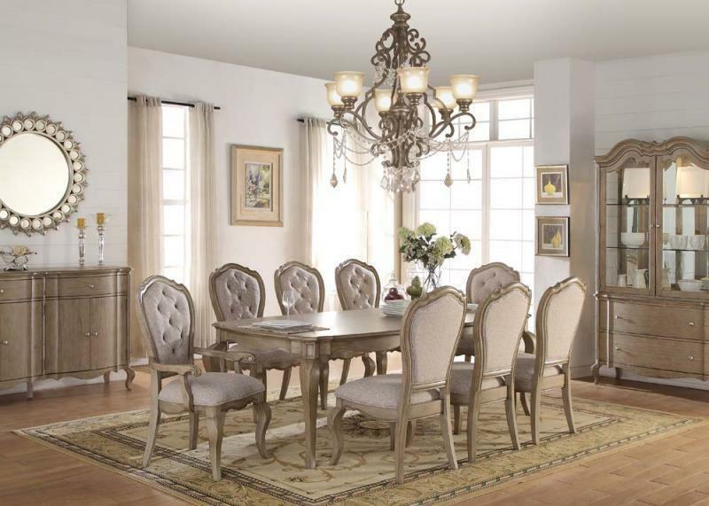 Acme Chelmsford Piece Dining Table 66050