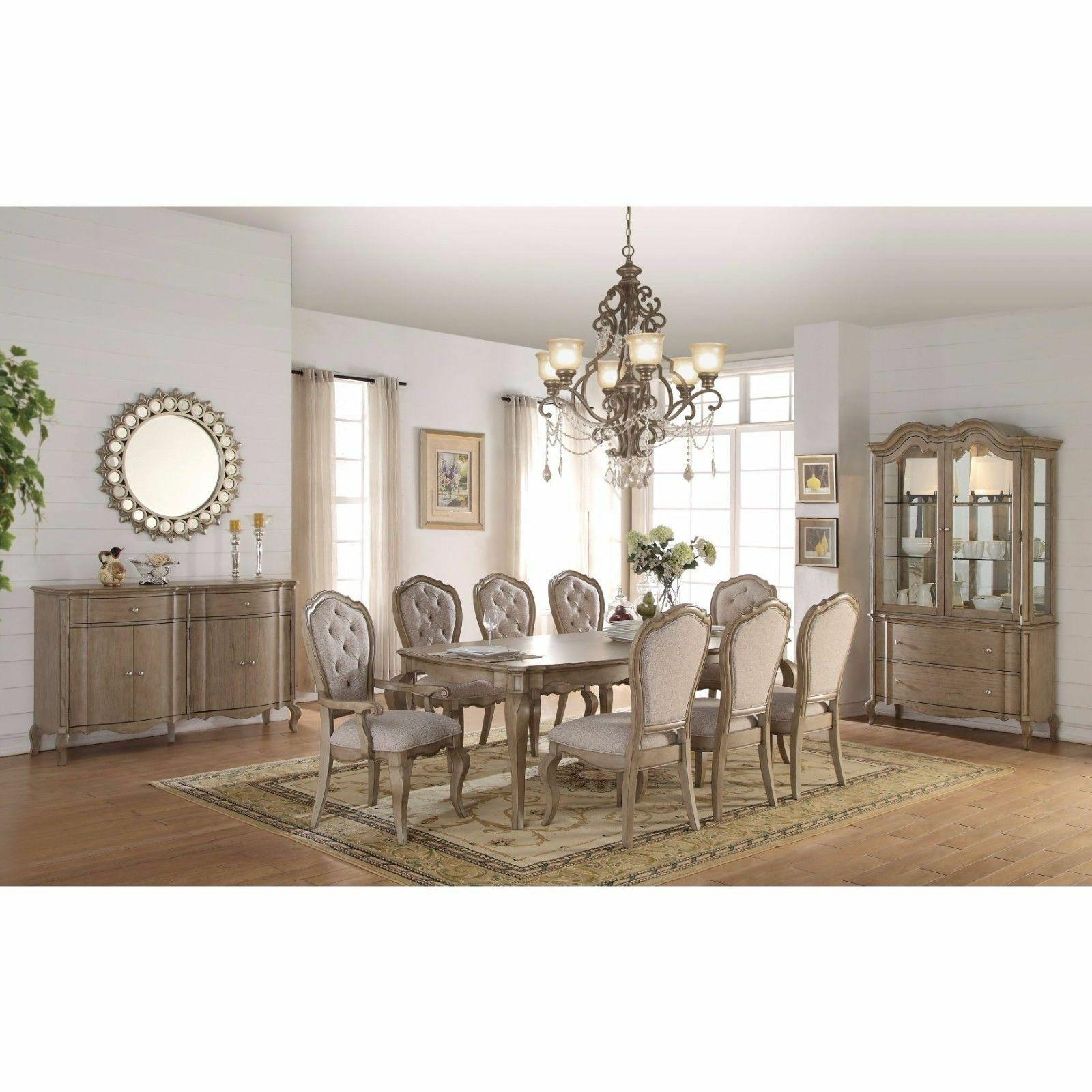 chelmsford 9 piece dining table set 66050