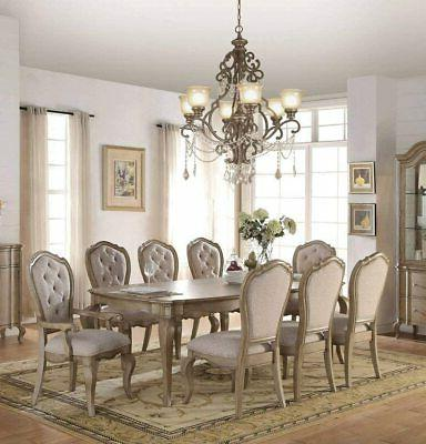 chelmsford dining table antique taupe