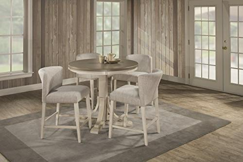 clarion five round counter dining