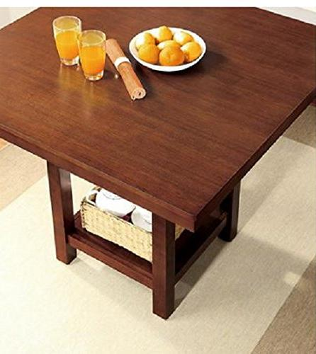 Better Homes and 5-Piece Counter Dining Set, Mocha