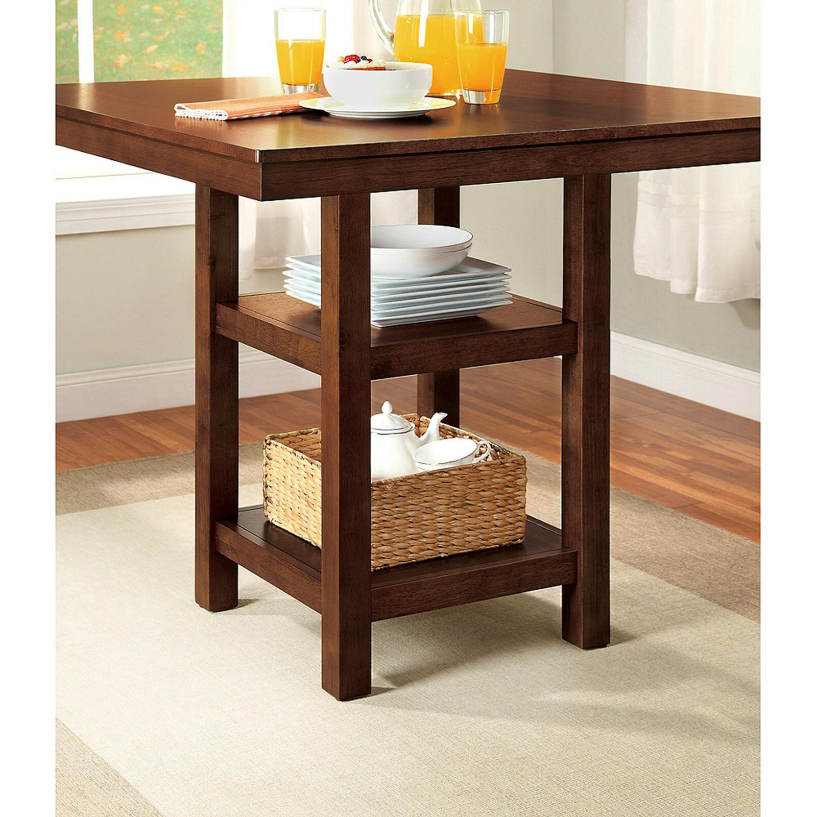 counter dining table set