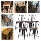 Counter Height Bar Stools Set of 4 Dining Room Bistro Kitche