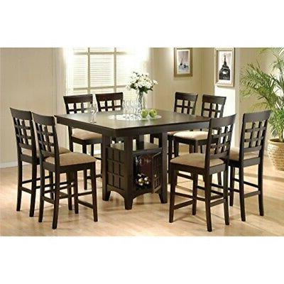 counter storage dining table w