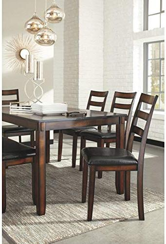 Ashley Furniture Design - Coviar Table Chairs Bench -