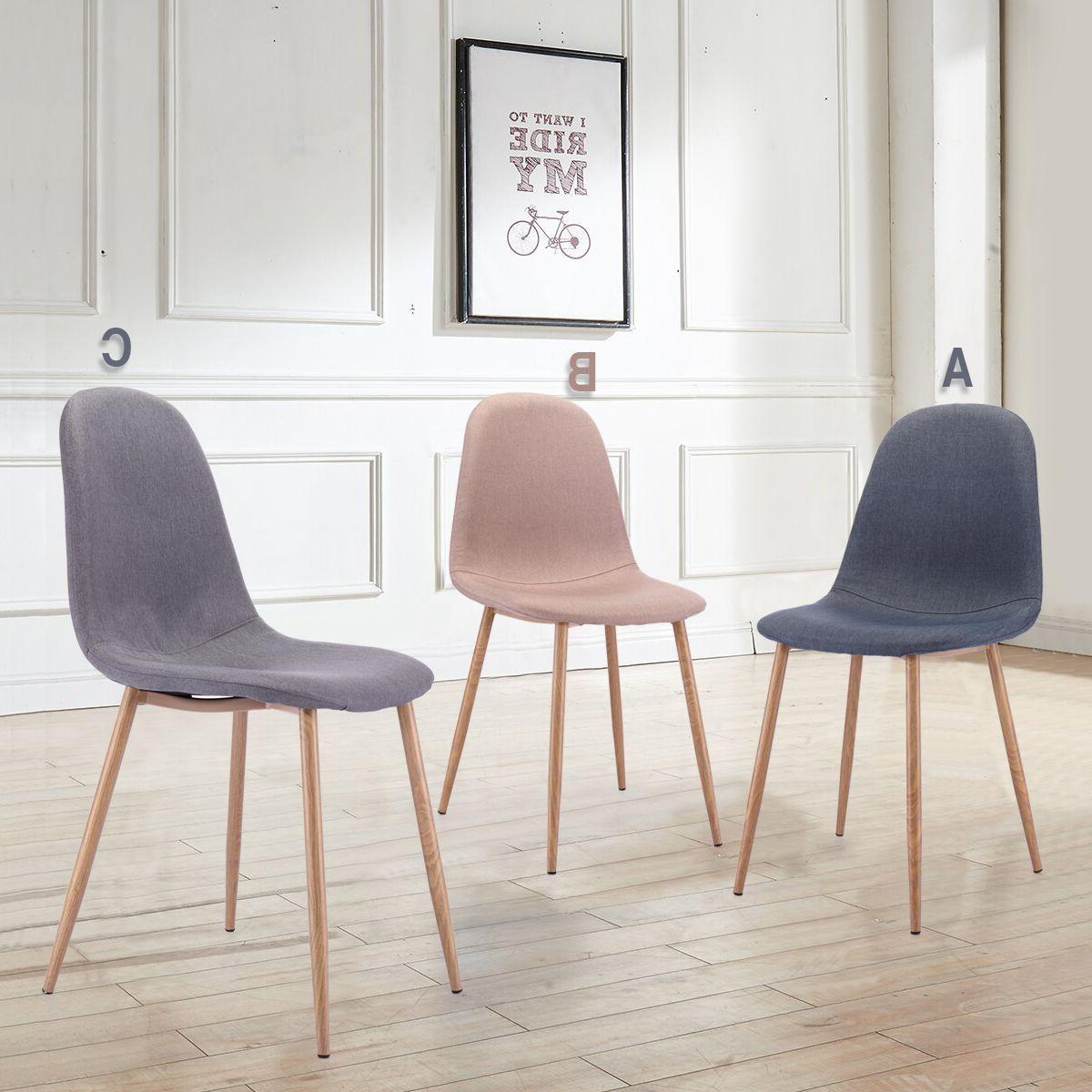 dining chairs set of 4 mid century