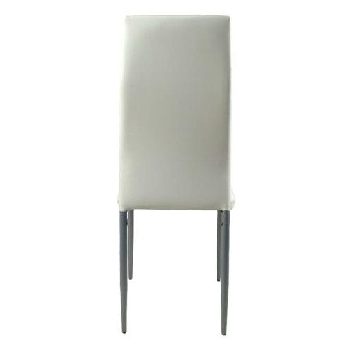 Dining Chairs 4 pieces White