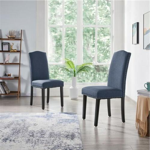 Dining Chairs Soft with Nailhead Soft of