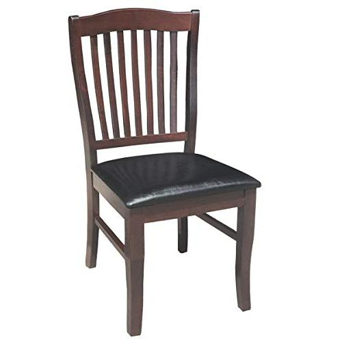Giantex Set of Dining Armless Chair Home Room High w/PU Leather Seat ,