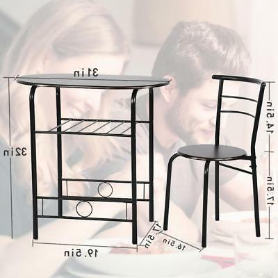 Set 3 Piece Frame Dining Room Table